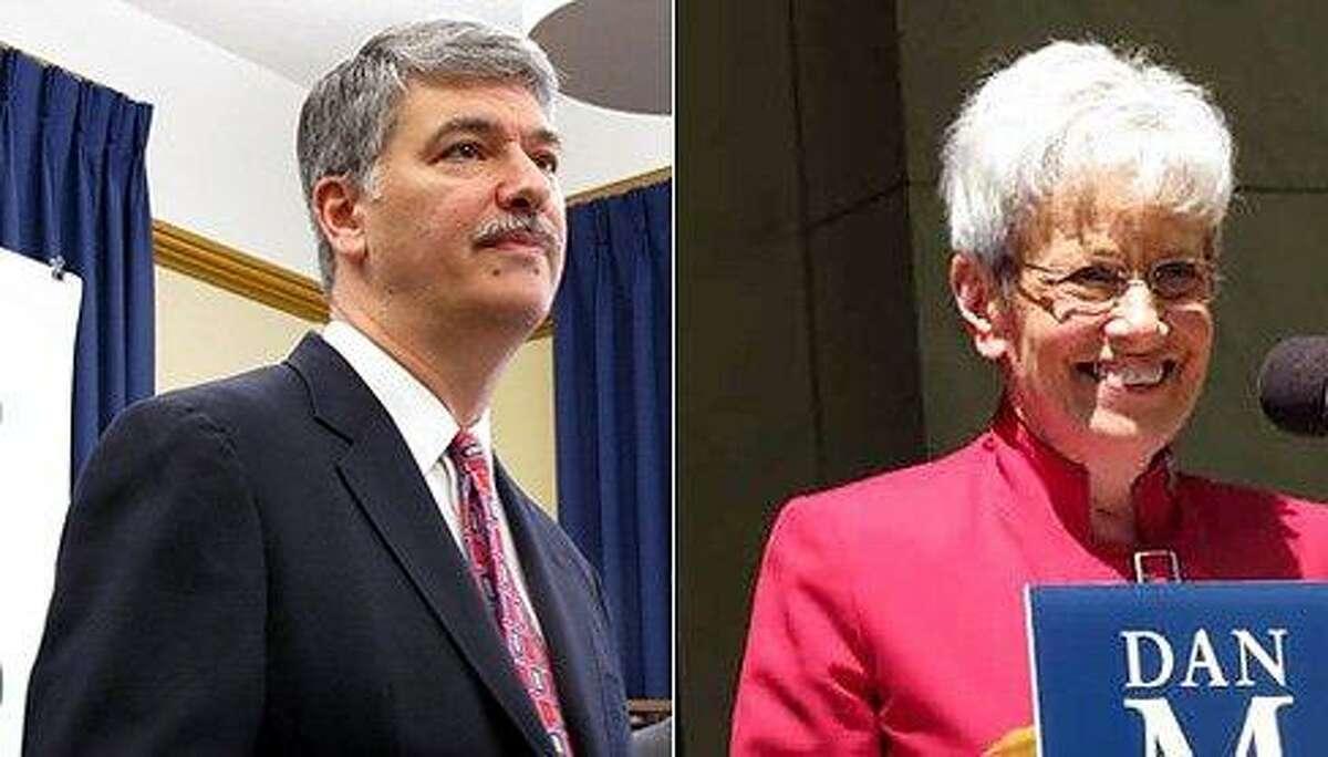 Sen. Donald Williams, and Lt. Gov. Nancy Wyman. CT NewsJunkie file photo