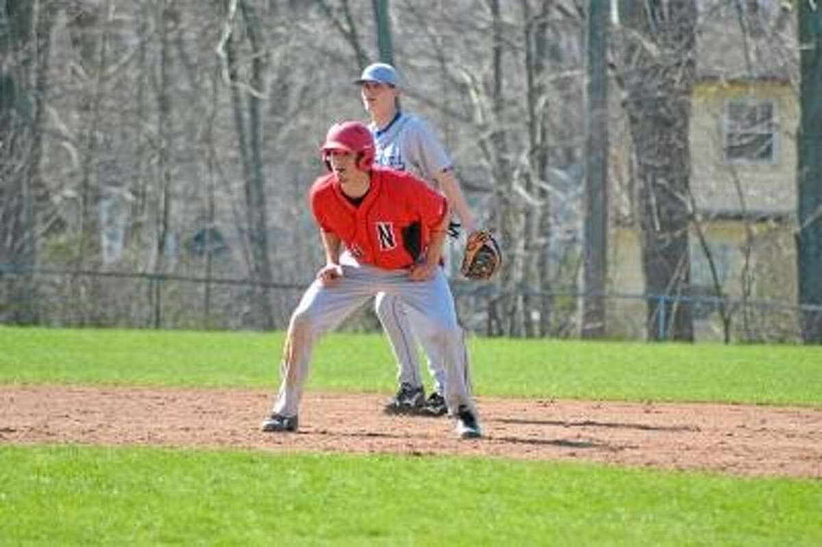 Pete Paguaga/Register Citizen Mike Jeffko has made a habit, getting on base and knocking in runs this season.