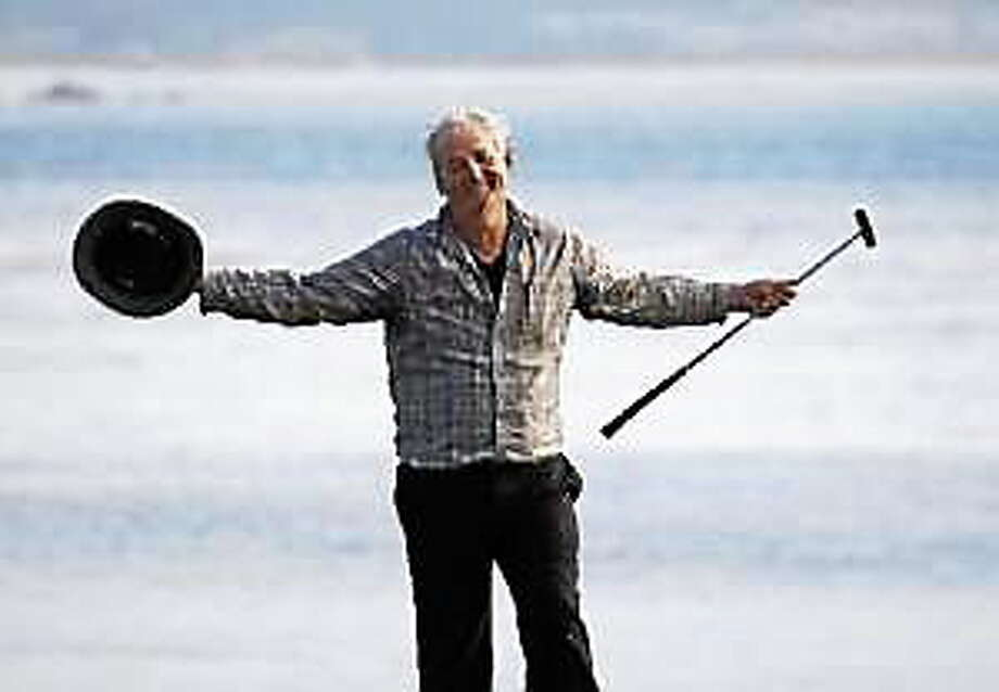 Bill Murray smiles after winning the pro-am portion of the AT&T Pebble Beach National Pro-Am at Pebble Beach Golf Links in Pebble Beach, Calif., on Feb. 13, 2011. Photo: (Patrick Tehan — Mercury News)
