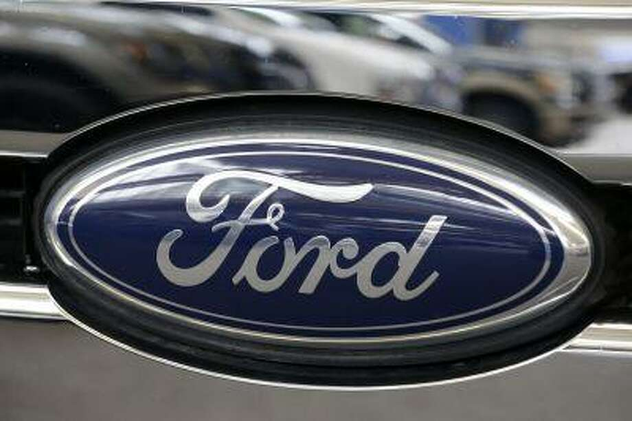 Ford logo seen at the 2013 Pittsburgh Auto Show. Photo: AP / AP
