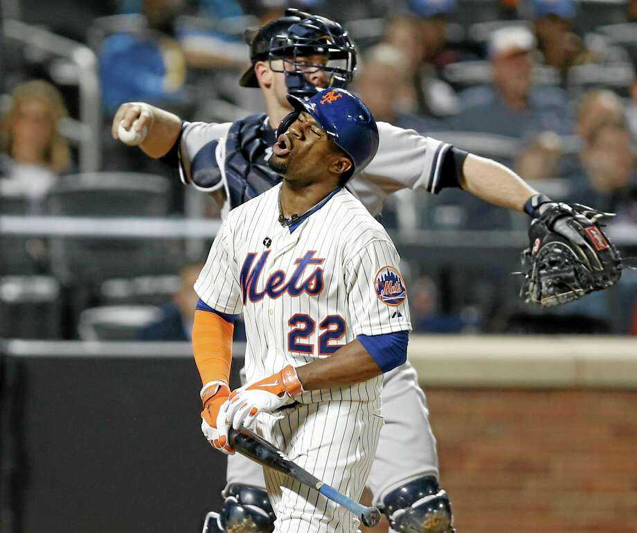 New York Mets outfielder Eric Young Jr. has been placed on the 15-day disabled list. Photo: Kathy Willens — The Associated Press  / AP