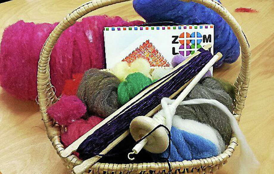 Submitted photo - Ginger Balch There are plenty of projects just right for younger knitters. Photo: Journal Register Co.