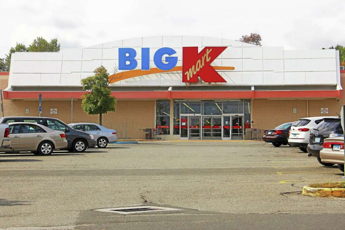 The Big Kmart located off Main Street as seen Wednesday in Torrington. Kmart's parent company said Wednesday that the store is shutting down in December, though no exact date was given.
