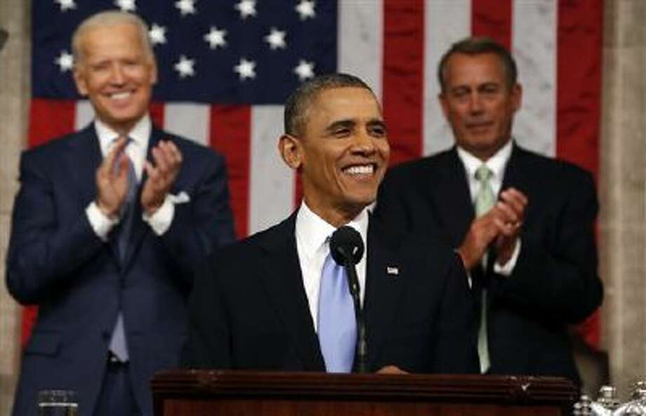 President Obama unveiled a new retirement plan aimed at low-income workers without 401(k)s during Tuesday's State of the Union. (AP) Photo: Ap / Pool Reuters