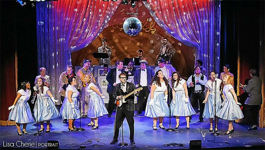 "Photo by Lisa Cherie The cast of ""The Buddy Holly Story"" performs at the Thomason Opera House on weekends through Oct. 5. Photo: Journal Register Co."