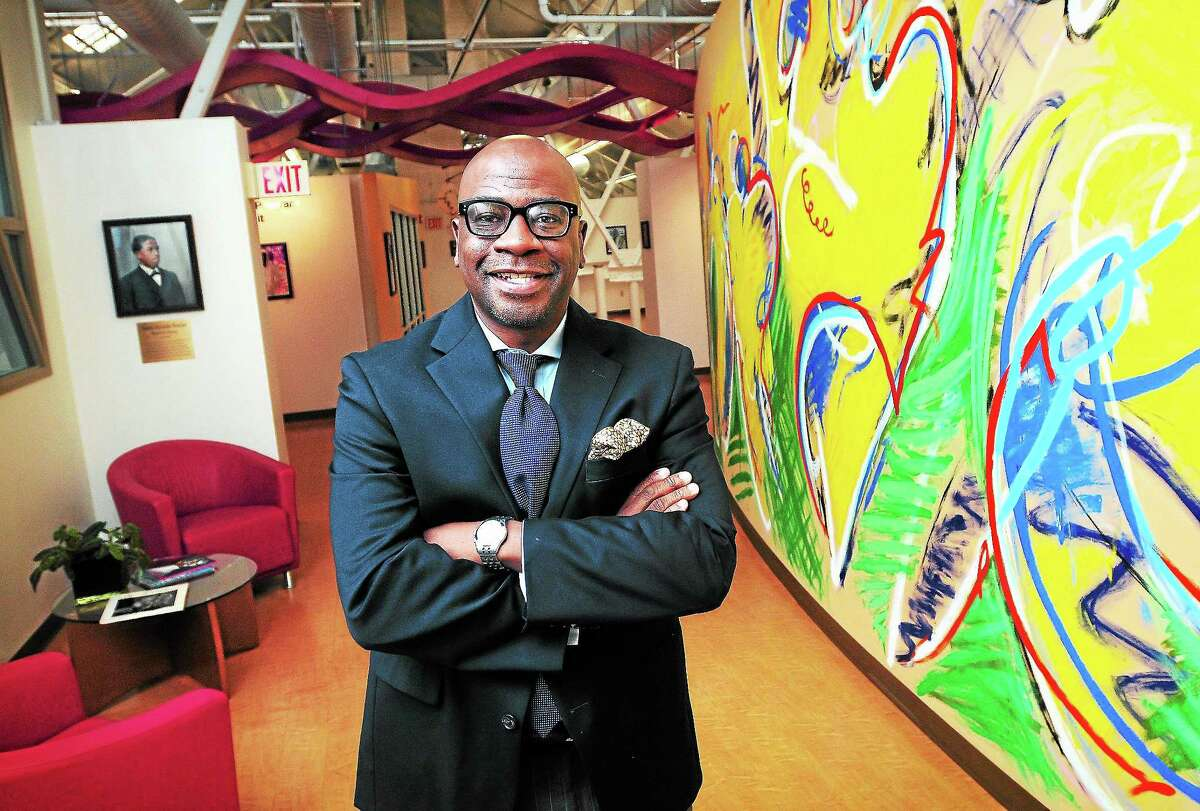 Erik Clemons, CEO of the Connecticut Center for Arts and Technology, is photographed at the Science Park center in New Haven on Aug. 23.