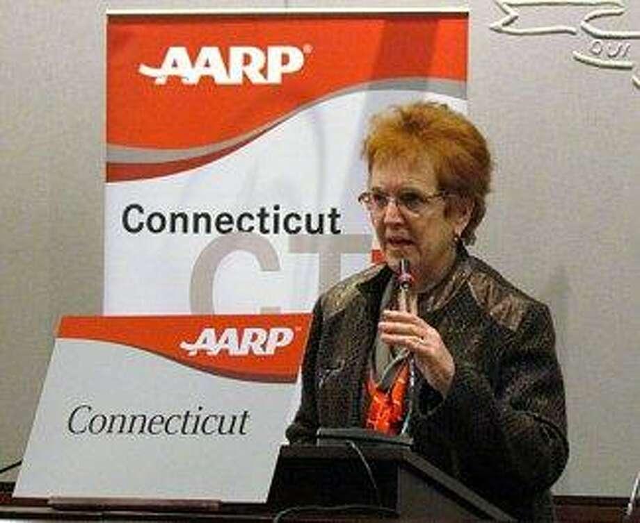 Kathy Null, AARP advocacy volunteer Courtesy CTNEWSJUNKIE