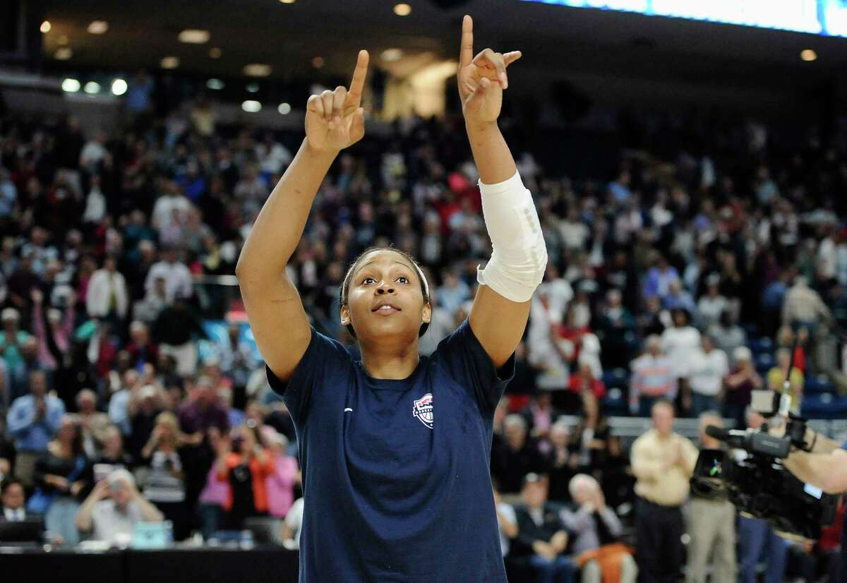 Former UConn player Maya Moore is one of five former or current Huskies that made the 12-player United States team which will compete in the FIBA World Champioship for Women.
