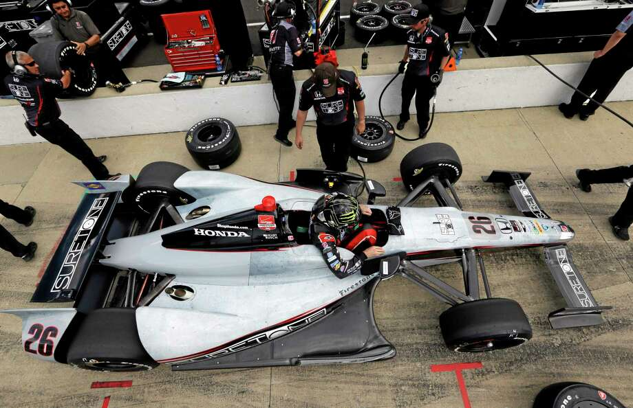 Kurt Busch will be attempting the double today when he races in the Indianapolis 500 and the Coca-Cola 600. Photo: Photos By The Associated Press  / AP
