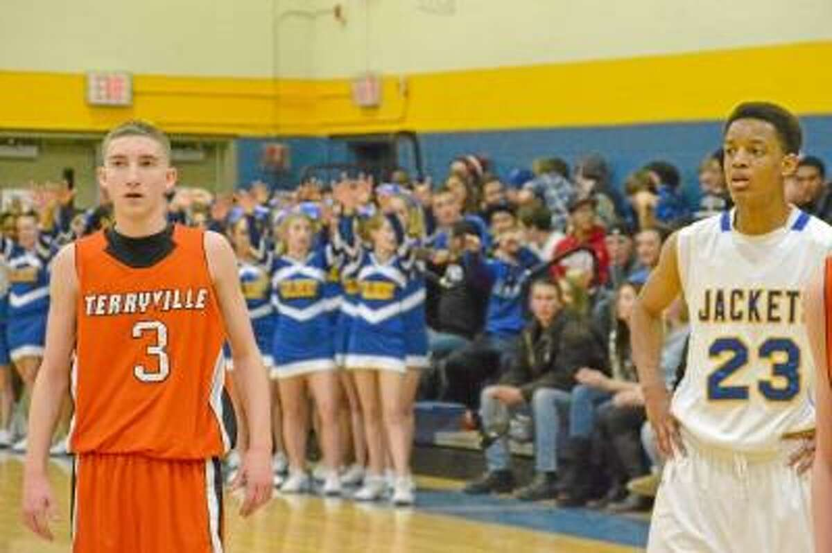 Terryville junior Tyler Trillo and Gilbert senior Robert Skinner were two of the top three scorers in the Berkshire League this season, at 21.7 points per-game for Skinner and 21.1 points per-game for Trillo. Photo by Pete Paguaga/Register Citizen