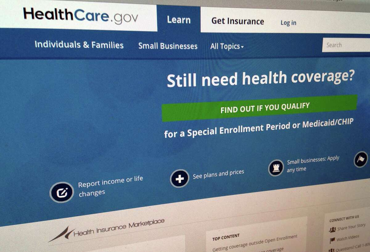 This Sept. 15, 2014 shows part of the HealthCare,gov Website in Washington. The government's own watchdogs say they tried to hack into HealthCare.gov earlier this year and found what they termed a critical vulnerability.