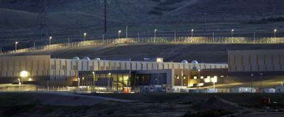 This Monday, June 10, 2013 photo shows a ground level view of Utah's NSA Data Center in Bluffdale, Utah. Photo: ASSOCIATED PRESS / AP2013