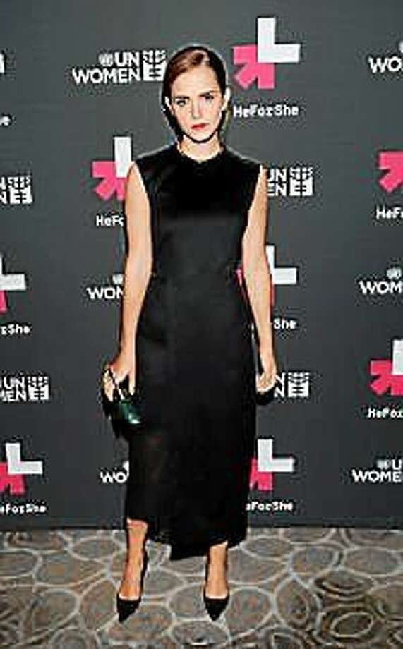 UN Women Goodwill Ambassador Emma Watson attends the HeForShe United Nations campaign launch party at the The Peninsula Hotel on Saturday, Sept. 20, 2014, in New York. Photo: (Evan Agostini — The Associated Press) / Invision net
