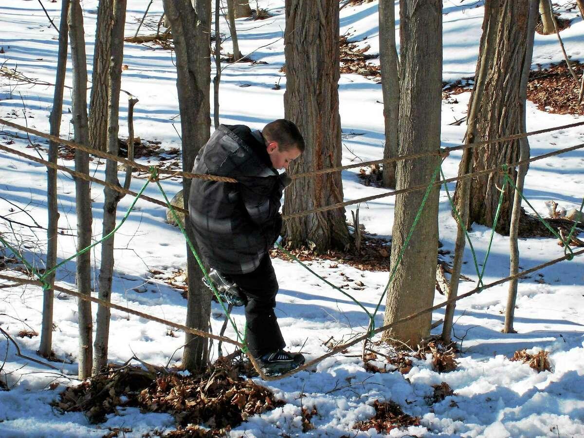Last year's Winter Carnival, which featured hayrides and a rope course created by Boy Scouts.