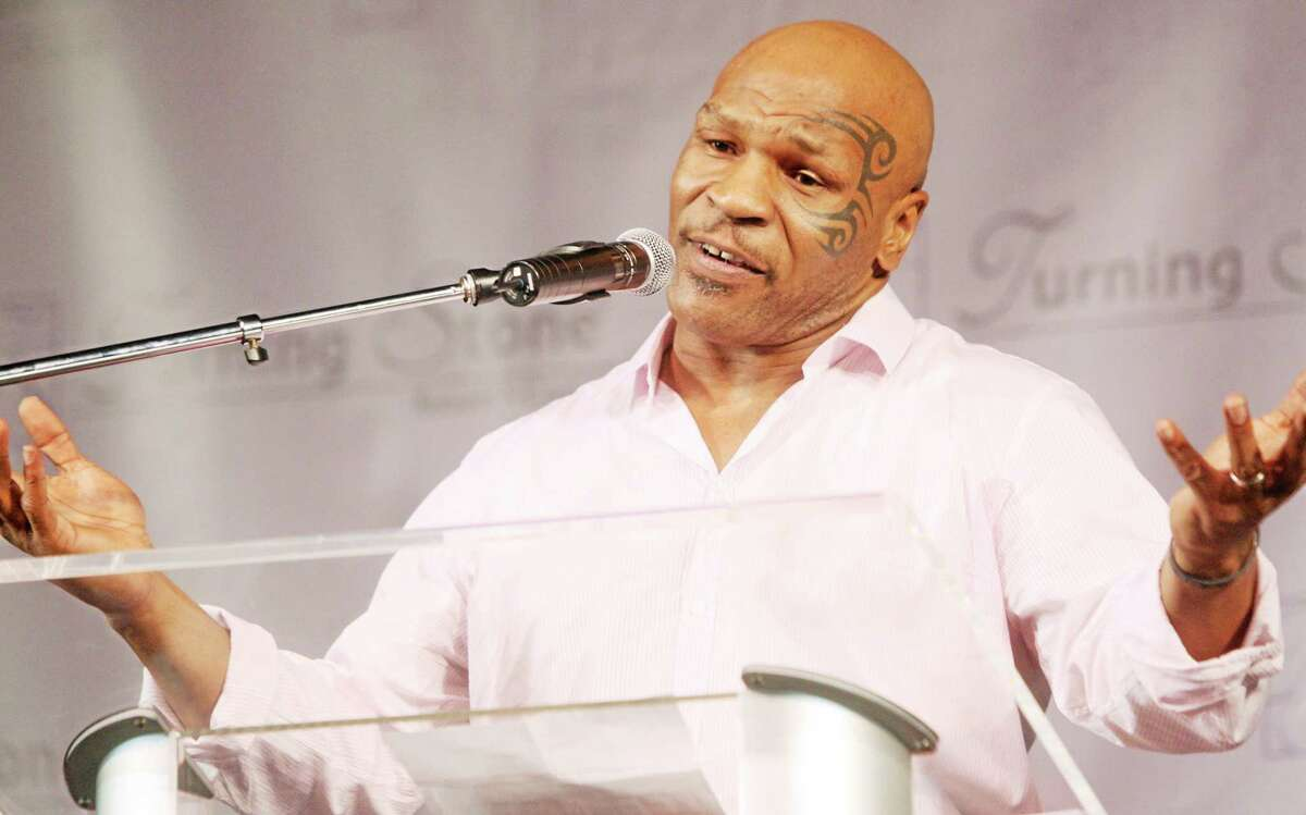 The Associated Press Retired boxer Mike Tyson came to the rescue of an injured motorcyclist after a crash on a Las Vegas interstate last week.