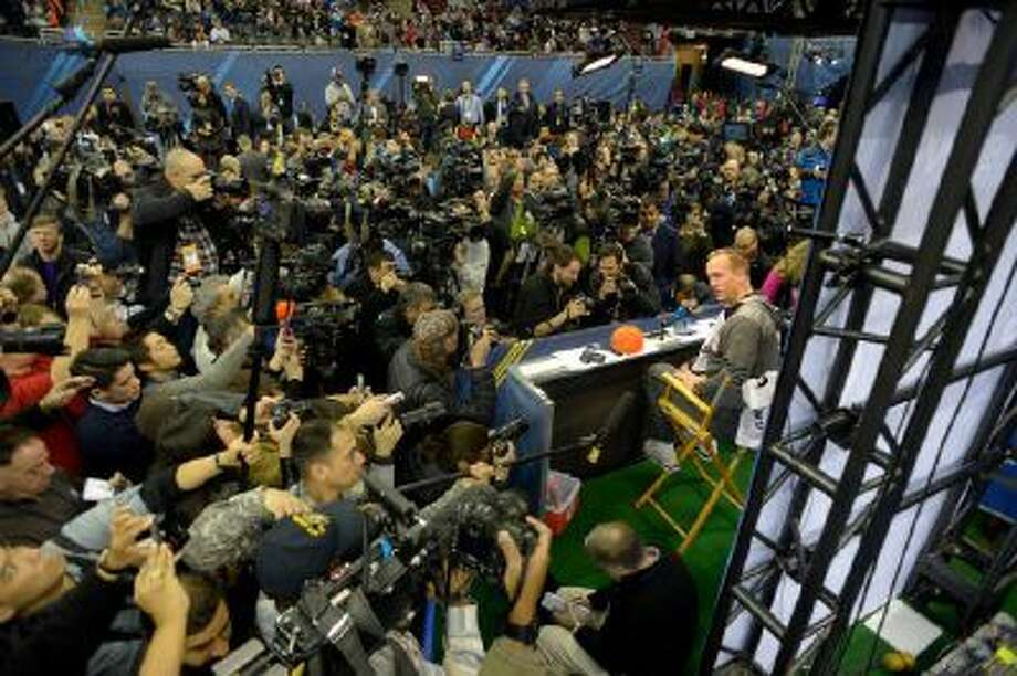 Media and fans poured into the Prudential Center for Media Day Tuesday in Newark, N.J.