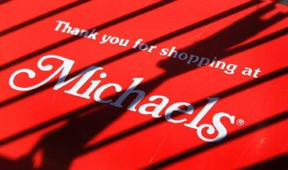 A Michaels store logo