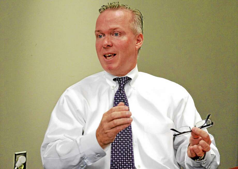 Dan Jerram, First Selectman of New Hartford, running for reelection on the Republican ticket. Photo: Journal Register Co.