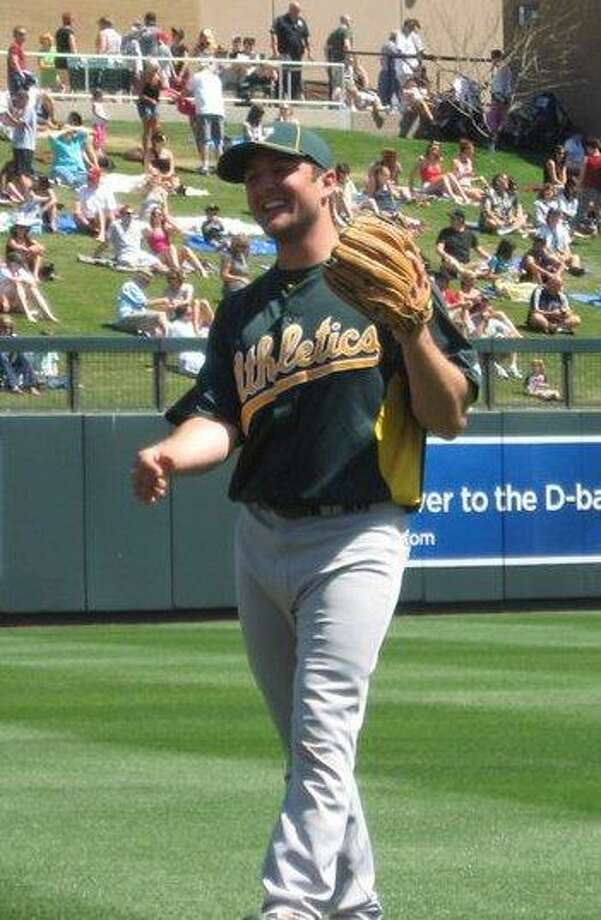 Photo submitted by Mike Fabiaschi Torrington native, Mike Fabiaschi, is currently in the Oakland A's minor league system, reaching the Double-A level last season.