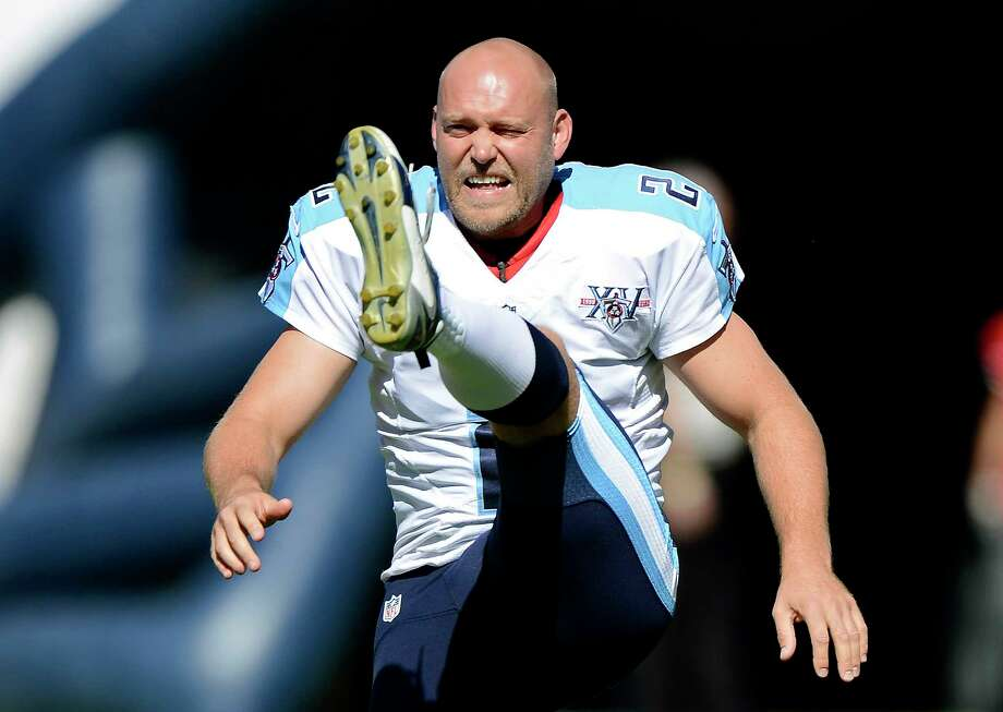 Former Titans kicker Rob Bironas died Saturday night after a car accident near his Nashville home, according to police. Photo: The Associated Press File Photo  / FR170793 AP