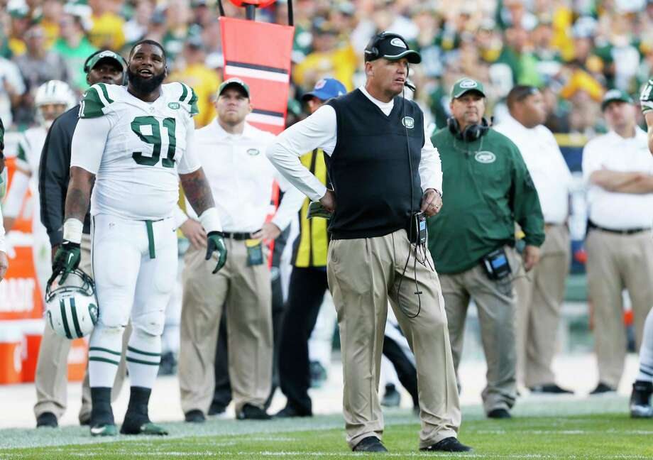 Coach Rex Ryan and the Jets face the Bears on Monday night. Photo: Mike Roemer — The Associated Press  / FR155603 AP