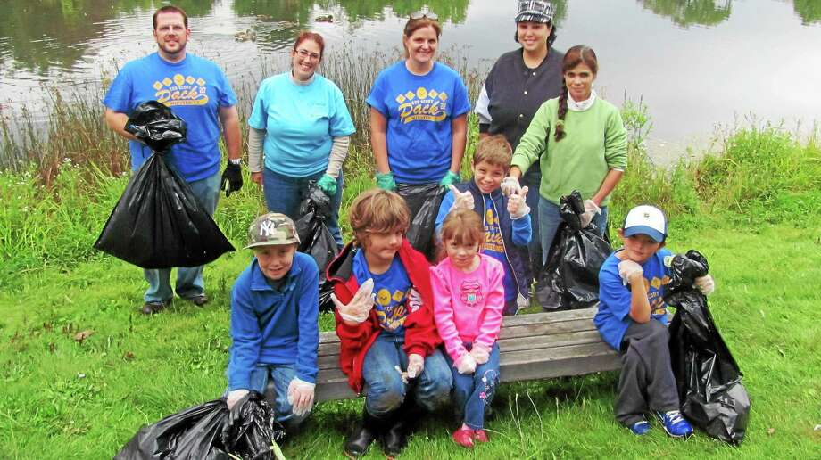 Torrington was the only Connecticut municipality to host a Clean Up the World Day Saturday. Photo: John Nestor - Special To The Register Citizen