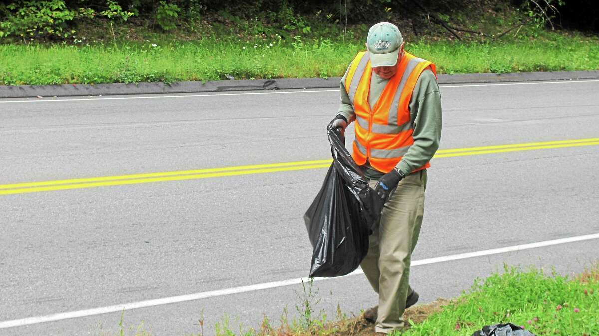 John Nestor - Special to the Register Citizen Members of a number of different organizations volunteered for Clean Up the World Day Saturday in Torrington.