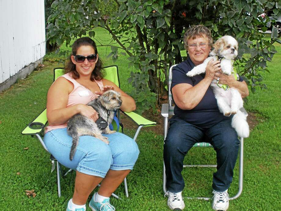 The Bellamy-Ferriday House and Garden in Bethlehem hosted its 13th annual dog show Saturday with a range of activities for canines and their owners. Photo: Stephen Underwood - Special To The Register Citizen