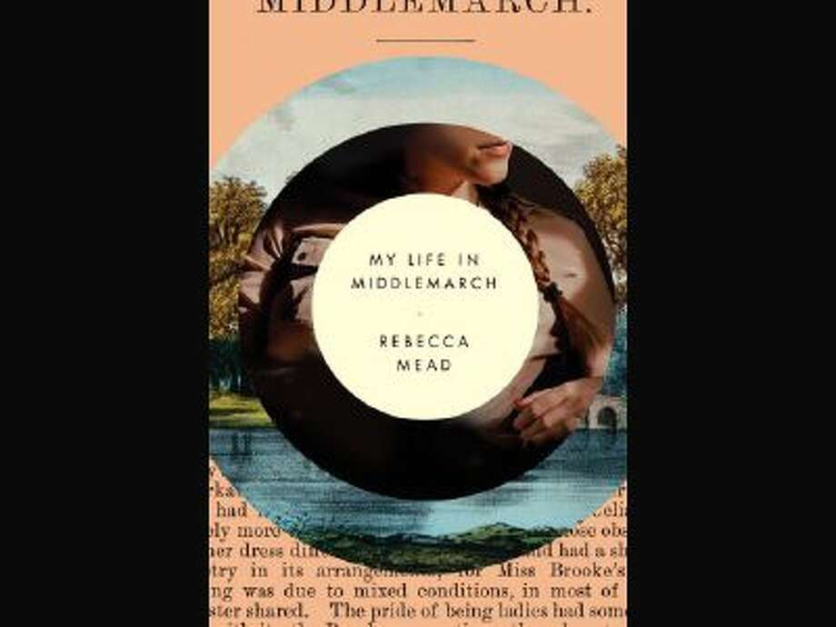"""This book cover image released by Crown shows """"My Life in Middlemarch,"""" by Rebecca Mead."""
