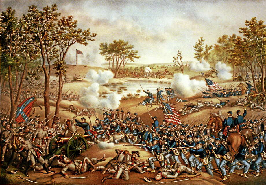 The battle of Cold Harbor. Photo: Contributed Photo