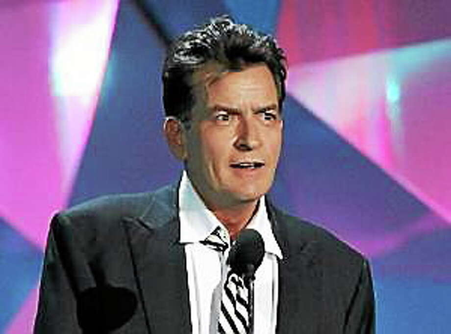 This June 3, 2012, file photo shows actor Charlie Sheen at the MTV Movie Awards in Los Angeles. Photo: (Matt Sayles — The Associated Press)