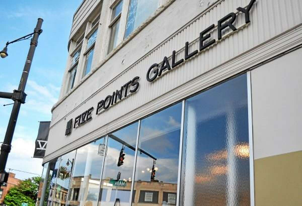 The Five Points Gallery, located at 33 Main St., plans to soon triple its space as part of an expansion to a neighboring Water Street storefront. (Tom Caprood-Register Citizen)