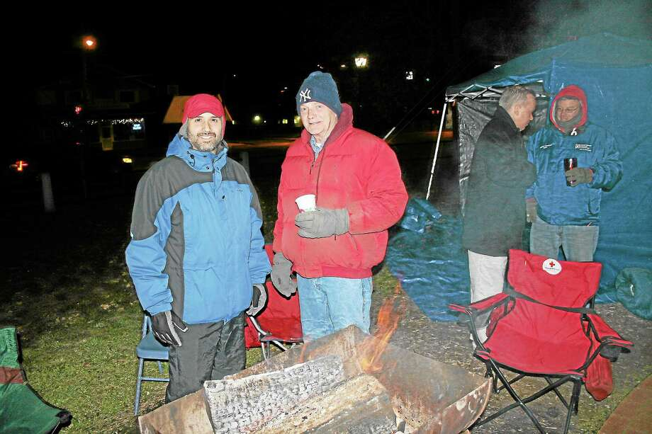 """The Winsted YMCA's """"Freezin' for a Reason"""" event in 2012. Photo: Contributed Photo"""