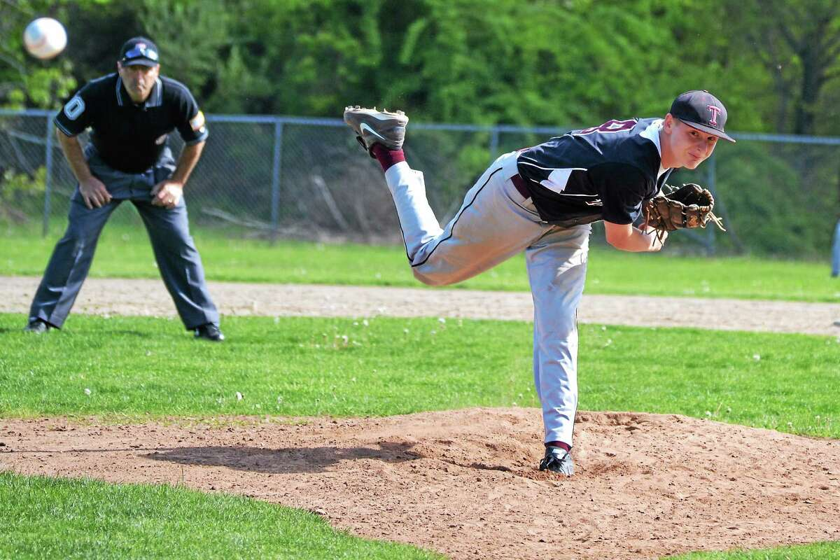 Torrington freshman Jason Vinisko threw a complete game, allowing seven hits, striking out two batters and allowing just two earned run in the Red Raidersí 10-3 win over Wilby.