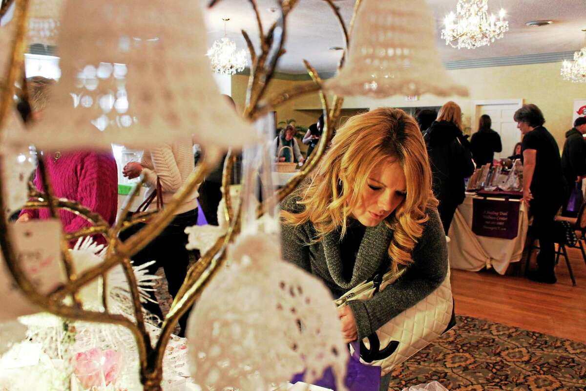 The Bridal Event at the Cornucopia Banquet Hall in Torrington brought together more than 40 vendors, including several local businesses, with samples for brides-to-be planning their weddings.