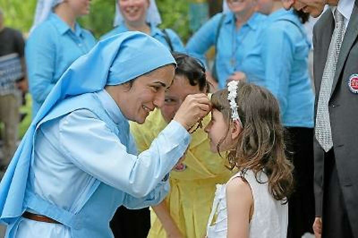 Submitted Photo Mother Olga will be speaking at St. Peter St. Francis school in Torrington about the season of Lent and Easter.