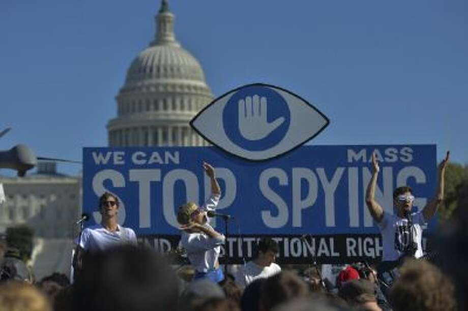 Members of Congress must decide whether to endorse NSA's collection of phone records or end it. Photo: The Washington Post/Getty Images / 2013 The Washington Post