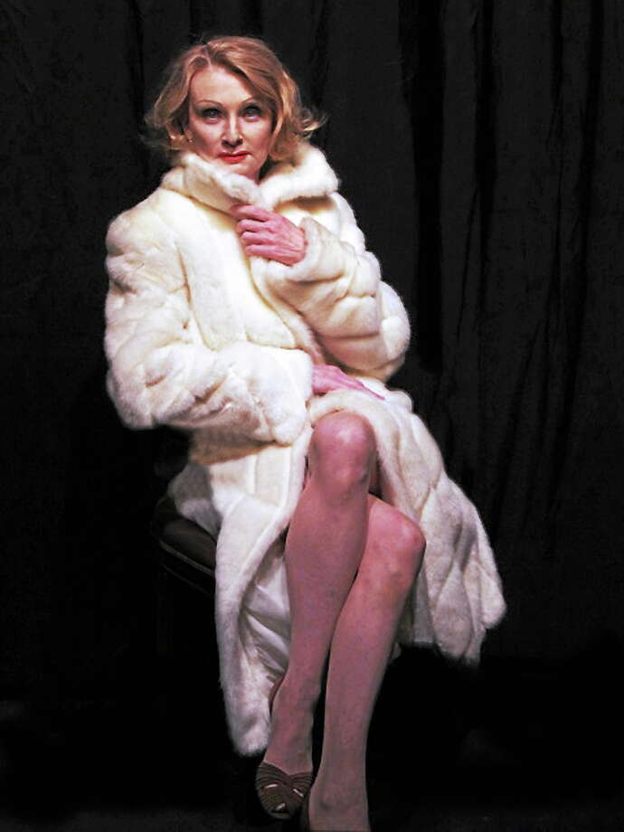 Submitted photo - Sherman Playhouse On Friday, May 30, The Sherman Playhouse is pleased to announce its limited engagement run of Marlene, Pam Gemsí stunning theatrical depiction of screen legend and artiste Marlene Dietrich, played by Katherine Almquist of Sharon. Photo: Journal Register Co.