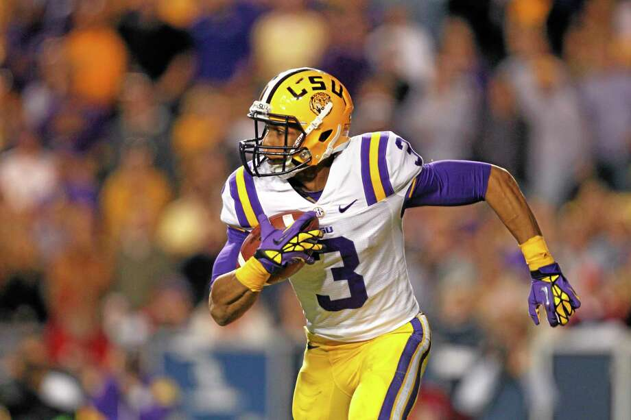 In this Nov. 17, 2012, file photo, LSU wide receiver Odell Beckham returns a punt 89 yards for a touchdown against Mississippi in Baton Rouge, La. Photo: Gerald Herbert — The Associated Press File Photo  / AP