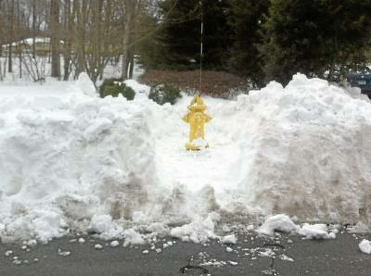 Submitted photo Fire hydrants need to be cleared by the property owner for public safety.