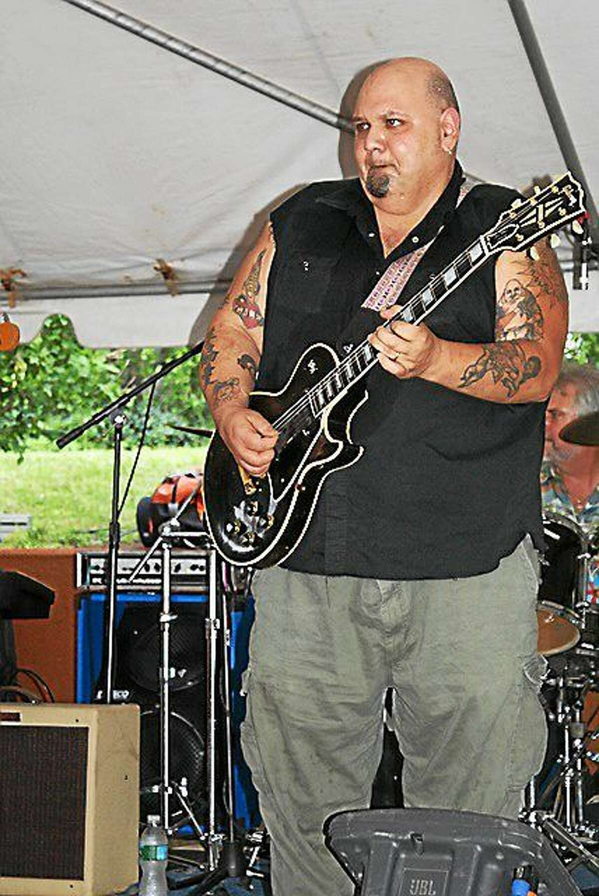 Photo by Dom Forcella FTC Stage One has Popa Chubby on Friday night.