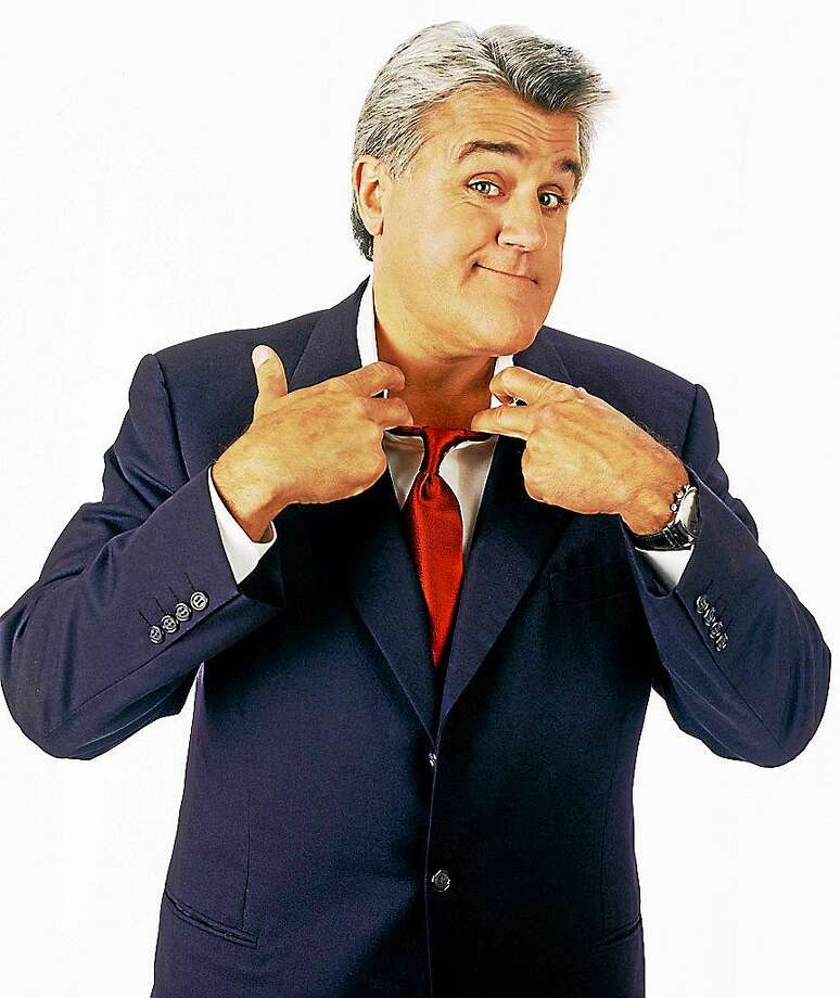 NBC Photo: Kevin Foley Acclaimed TV late night show host, admired stand-up comedian, best-selling childrenís book author, much-in-demand corporate speaker, lovable TV and movie voice-over artist, Jay Leno will perform  at the Jorgenson Center for the Performing Arts Center in Storrs Sept. 20. During his time as frontman, The Tonight Show with Jay Leno was honored by the Television Academy with an Emmy for ìOutstanding Comedy, Variety or Music Series.î Leno himself is the recipient of hte Peopleís Choice Award and  other honors, including the Harris Poll selection as most popular star on television. For more information on Jayís upcoming concert in Connecticut and other entertainment coming to Jorgenson you can visit www.jorgensen.uconn.edu or call (860) 486-4226. Photo: Journal Register Co.