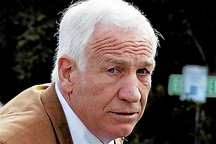 FILE - This June 22, 2012 file photo shows former Penn State assistant football coach Jerry Sandusky arriving at the Centre County Courthouse in Bellefonte, Pa.  Sandusky should not get a new trial after being convicted of sexually abusing 10 boys, a Pennsylvania appeals court ruled Wednesday, Oct. 2, 2013. The decision by a three-judge Superior Court panel came barely two weeks after they heard oral arguments by Sandusky's lawyer and a state prosecutor.  Sandusky, 69, is serving a 30- to 60-year prison sentence at a state prison in southwestern Pennsylvania. (AP Photo/Gene J. Puskar, File) Photo: AP / AP