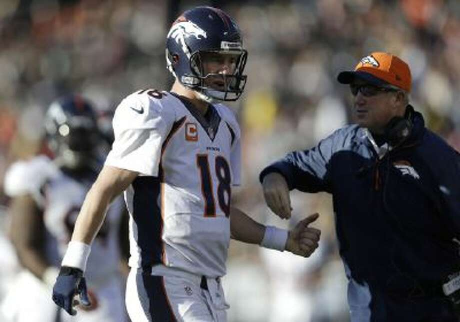 Denver Broncos quarterback Peyton Manning is an advocate for always taking the ball to start the second half, instead of the game.