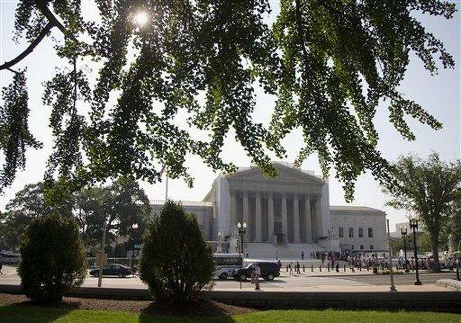 The Supreme Court in Washington. Associated Press file photo Photo: AP / AP