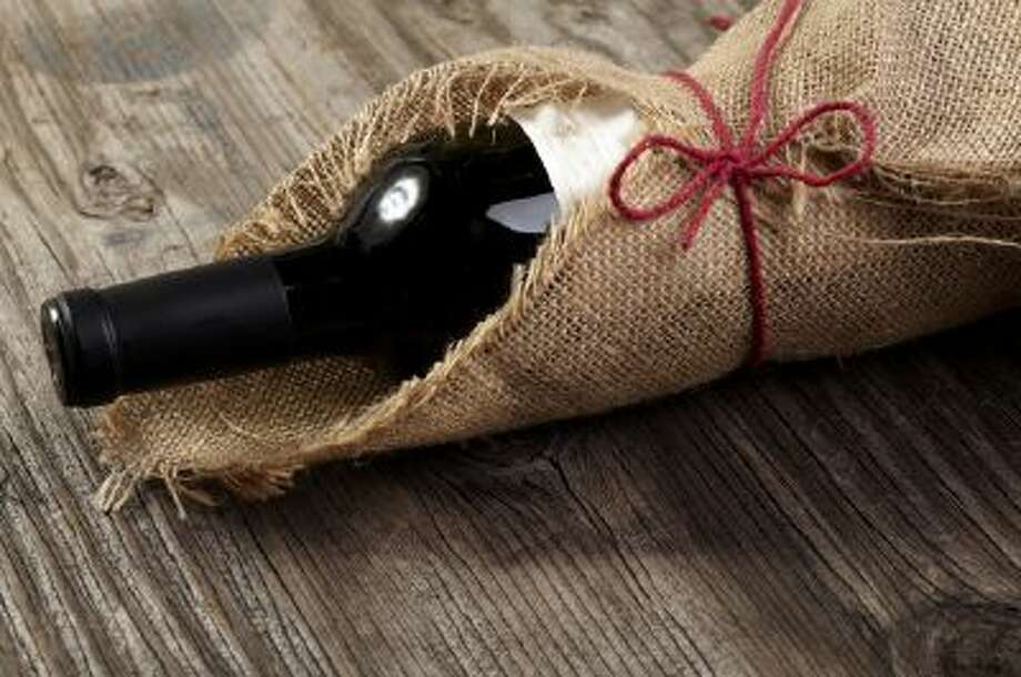 A bottle of wine makes for a classy, tasteful gift.