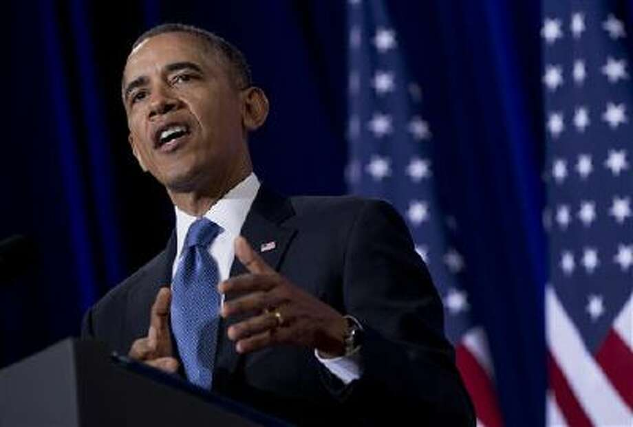 President Obama will make the State of the Union address on Tuesday. Photo: AP / AP