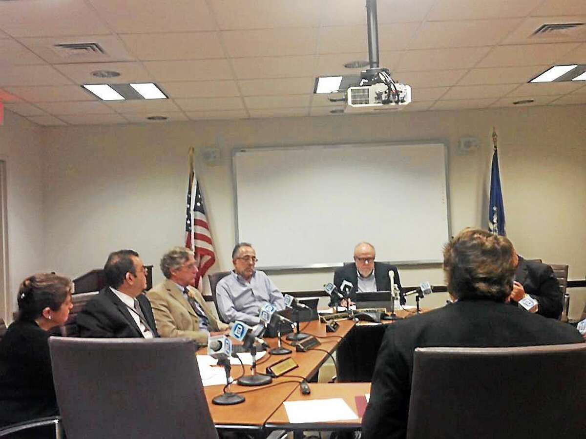 The State Elections Enforcement Commission meeting.