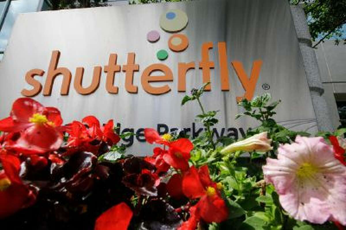 The Shutterfly headquarters in Redwood City, Calif.