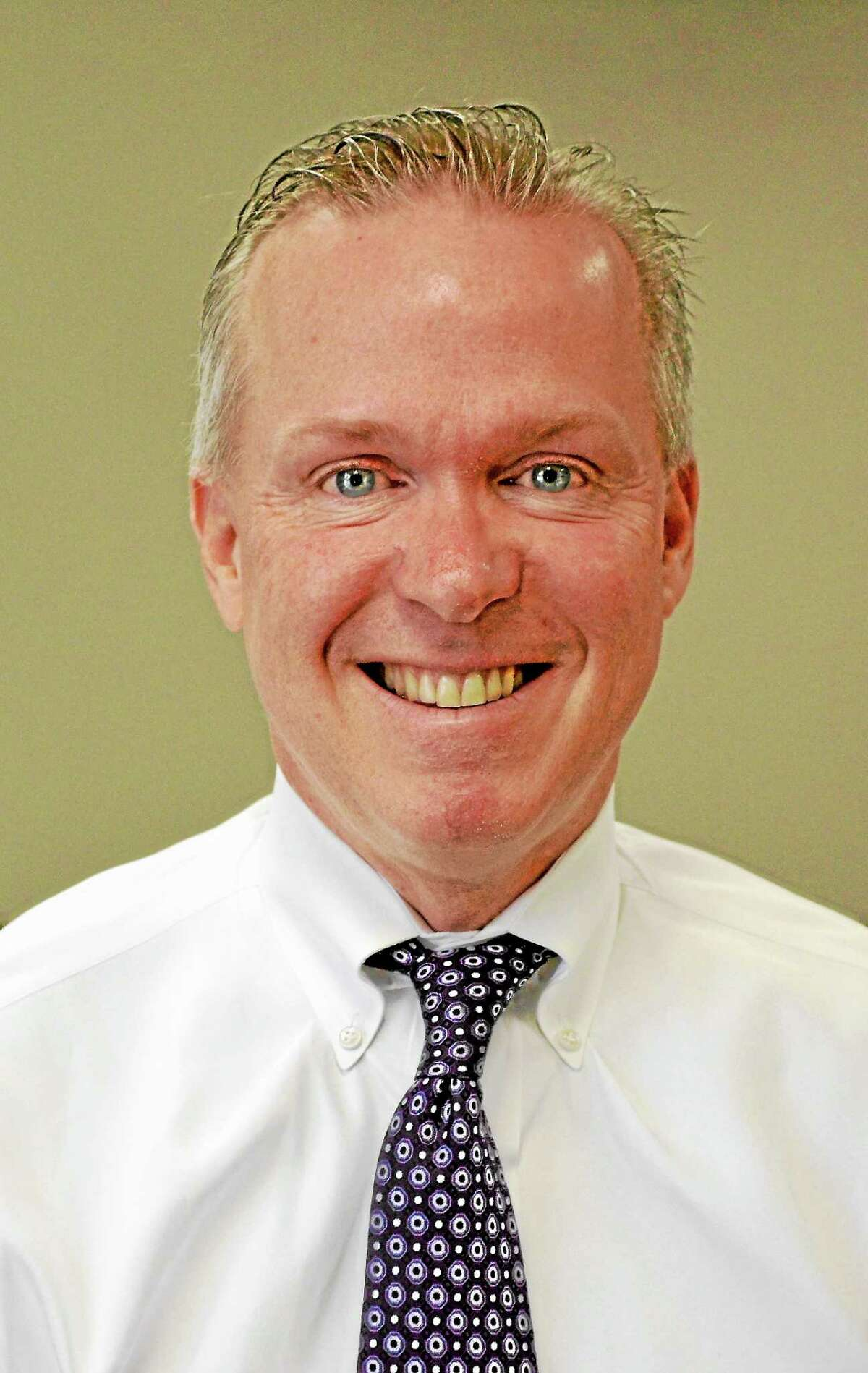 Dan Jerram, First Selectman of New Hartford, running for reelection on the Republican ticket.
